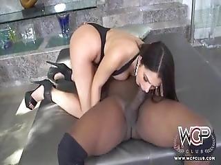Hung Black Bull Bangs Big Booty Italian Whore