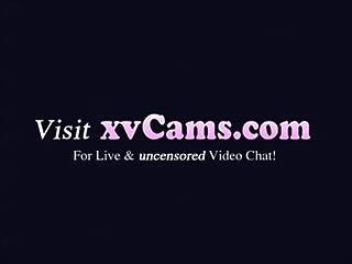 Chubby Teen Masturbates On Webcam