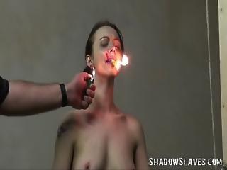 Emilys Burning Prisoner Torture In Bondage And Cellblock Bdsm