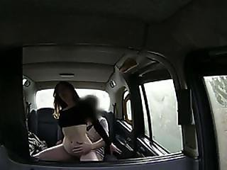 Hardcore Sex Action In The Backseat Of A Taxi