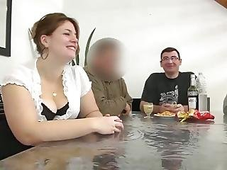 Banging, Bbw, Gros Sein, Seins, Cul, Française, Gangbang