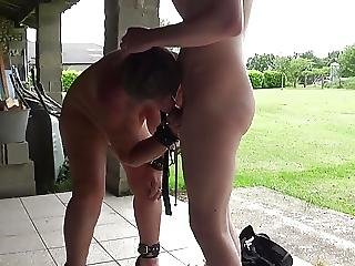 Young Man Enjoying An Old Whore