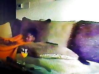 Real Hidden Cam Roommate Caught Masturbating