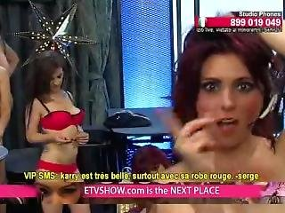 Bulgarian Girls Party Dancing And Stripping Nude