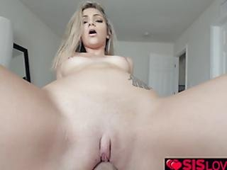 Step Bros Fucking Athena Faris Pussy On Top