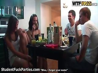 Horny Hot Teen Babes Go Crazy Taking