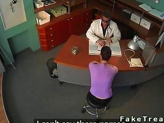 Security Cam Catches The Doctor Being Naughty