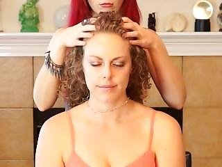 Thick Curly Hair Massage
