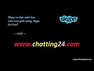 Hot Skype Chat Is Being Recorded By A Canadian Guy