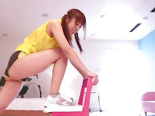 Nippon Workout Legal Age Teenager Facesitting Gym Buddy