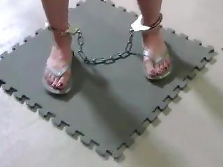 bondage, więzień, lesbijka