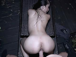 Smokin Hot Asian Babe Gets Banged In Pov