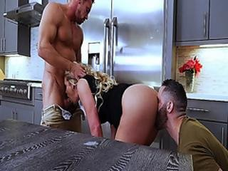 Army Boi Stepson Licks Phoenix Maries Milf Pussy From Behind