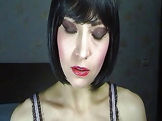 Lipstick Mouth Tongue Fetish
