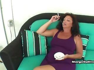 Cigarro, Punheta, Milf, Estrela Porno, Fumar