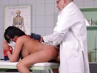 Beautiful French Girl Fucked Good In Clinic Pt. 2