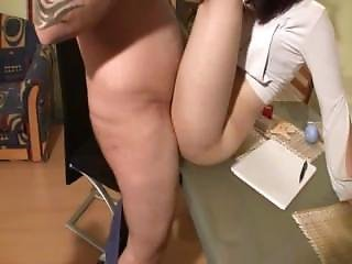 Dumb Teen Slut Banged On A Table