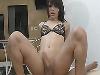 Small Tits Tranny Anal Fucked Real Deep By Hard Dick