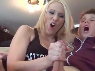 Masturbating Her Brother