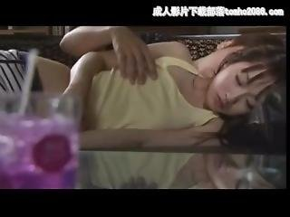 Stepdad Seducing His Daughter Sleeping On Sofa