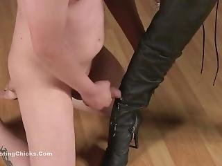 Ballbustingchicks - Sadistic Punishment
