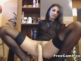 nagy mell, barna, mûfasz, latin, maszturbáció, milf, szóló, webcam
