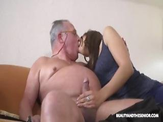 Grandpa Loves His Hot Slut