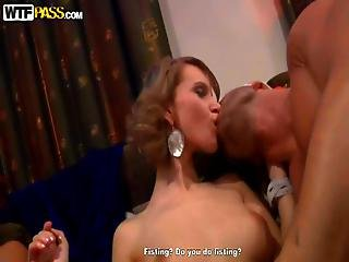 Amazing Group Orgy Action