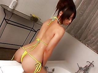 Japanese, Lotion, Shower, Softcore, Teen