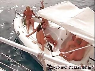 Velvet Swinger Club Orgy And Gangbang On A Yacht Must See