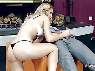 Not Daughter Seduce Friend Of Mom To Get Her First Fuck