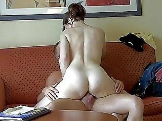 Hot Mom Riding Old Dick