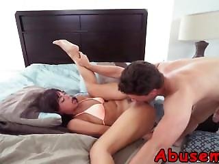 Luscious Teen Getting Her Cunt Abused Hardcore