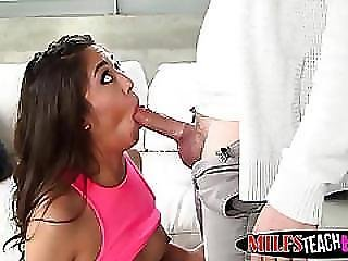 Busty Milf And Brunette Teen Megan Get Their Cunts Fucked