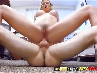 Captured Wanking And Made To Pleasure Milf Stepmom