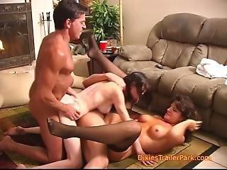 A Taboo Step Family Orgy