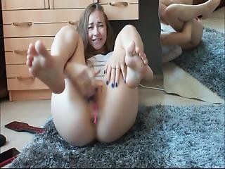 Cute Teen Playing With Herself