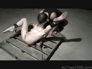 Chained To A Pallet And Punished Bdsm Bondage Slave Femdom Domination