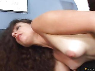 Her Mouth Filled With Male Sperm
