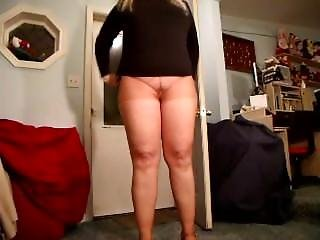 Pizza Delivered, Wife In Pantyhose