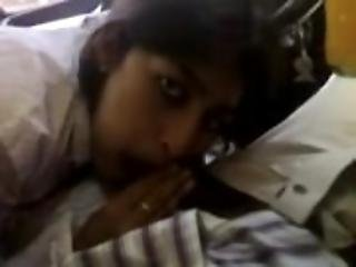 indian blowjob in the car
