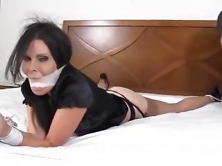 bondage, star du porno, femme