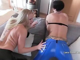 babe, fetish, latex, lesbisk