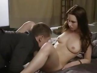 anal, brud, avsugning, brunett, cumshot, avrunkning, slicka, fitta, slicka fitta