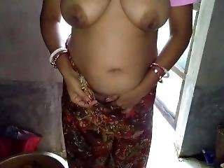 Indian Maid Pissing Outdoor And Fucked In Farmhouse Kitchen