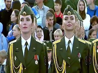 Belarus Lukashenko, Accept The Girls' Parade!