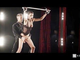 Xchimera - Czech Babe Candice Luca Gets Bound And Toyed In Fantasy Fuck