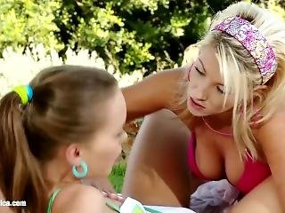 Lesbian Fun On The Mountain By Sapphic (tea Jul, Mia Ross)