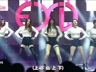 Korean Girls In Angora Sweater. Music Video