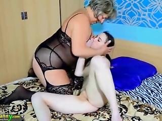 Horny Nanny And A Teen